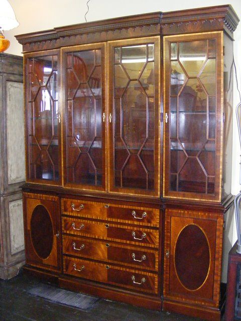 Fresh Hickory Chair China Cabinet