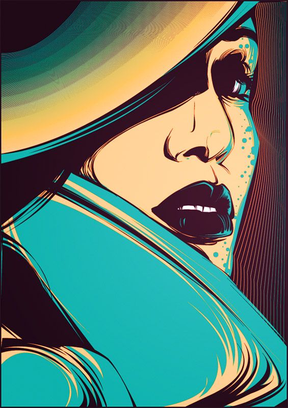 Captivating Vector Illustration   By: Pablo Jeffer, via InspirationFeed