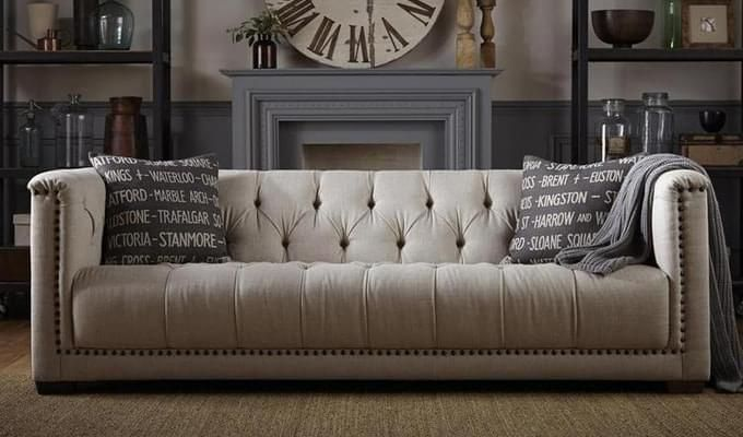 The Cosy And Comfortable Chesterfield Sofa Is Must For Creating A Luxurious Looking Living Room Of This Type Will Also Add Style To