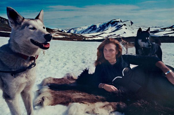 Gertrud Hegelund by Elina Kechicheva for Marie Claire Italia November 2014