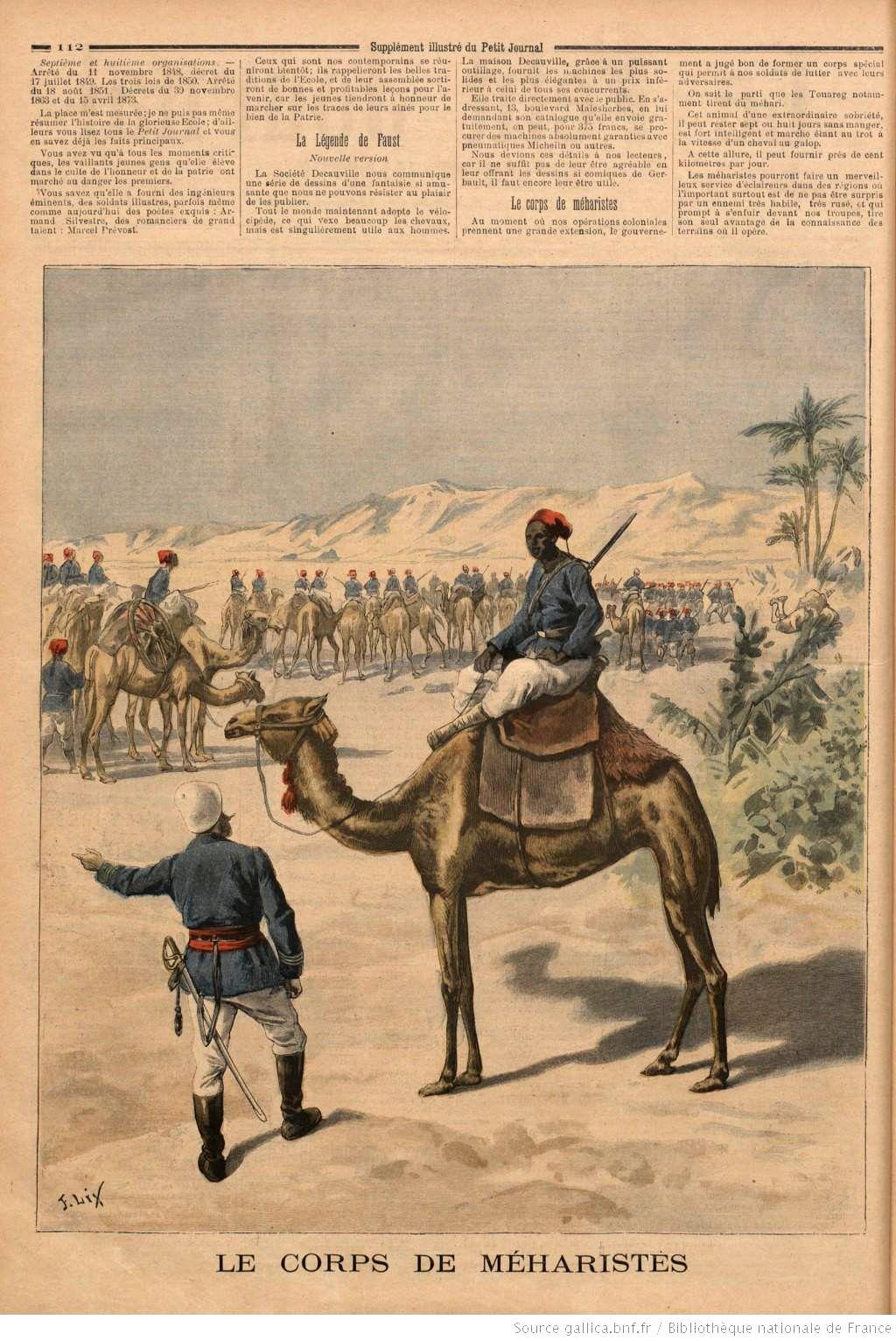 Corps De Mehariste Old Egypt Historical Figures History