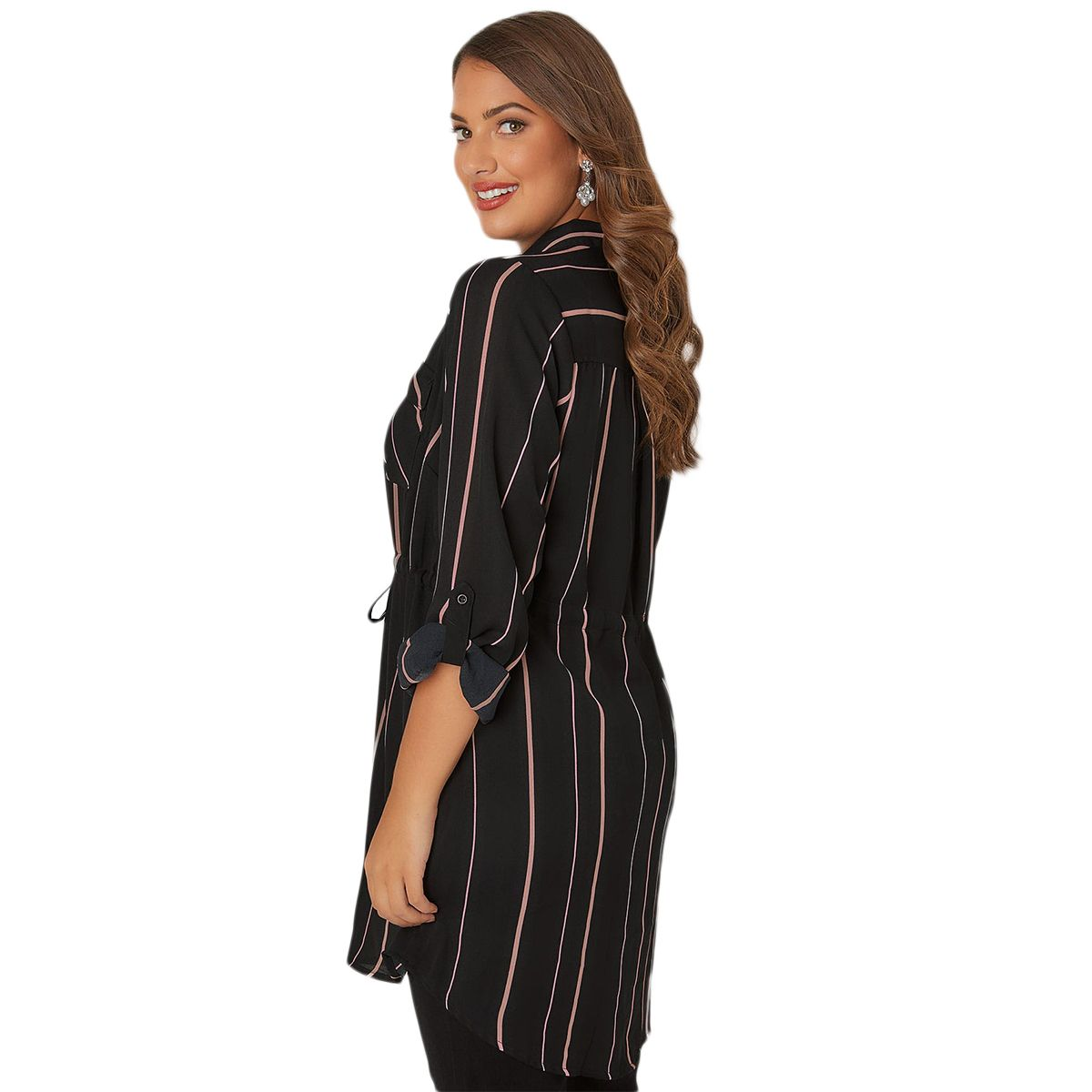 7540d76be48 Aliexpress.com   Buy Misskoko Women Plus Size Blouse 2018 Striped Long Shirt  Intimate Office
