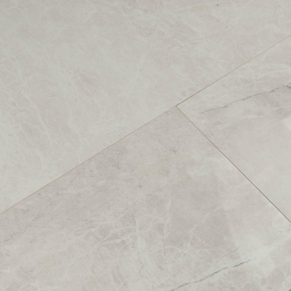 ms international marmol gris 12 in x 24 in polished porcelain floor and wall tile 16 sq ft case - Marmol Gris