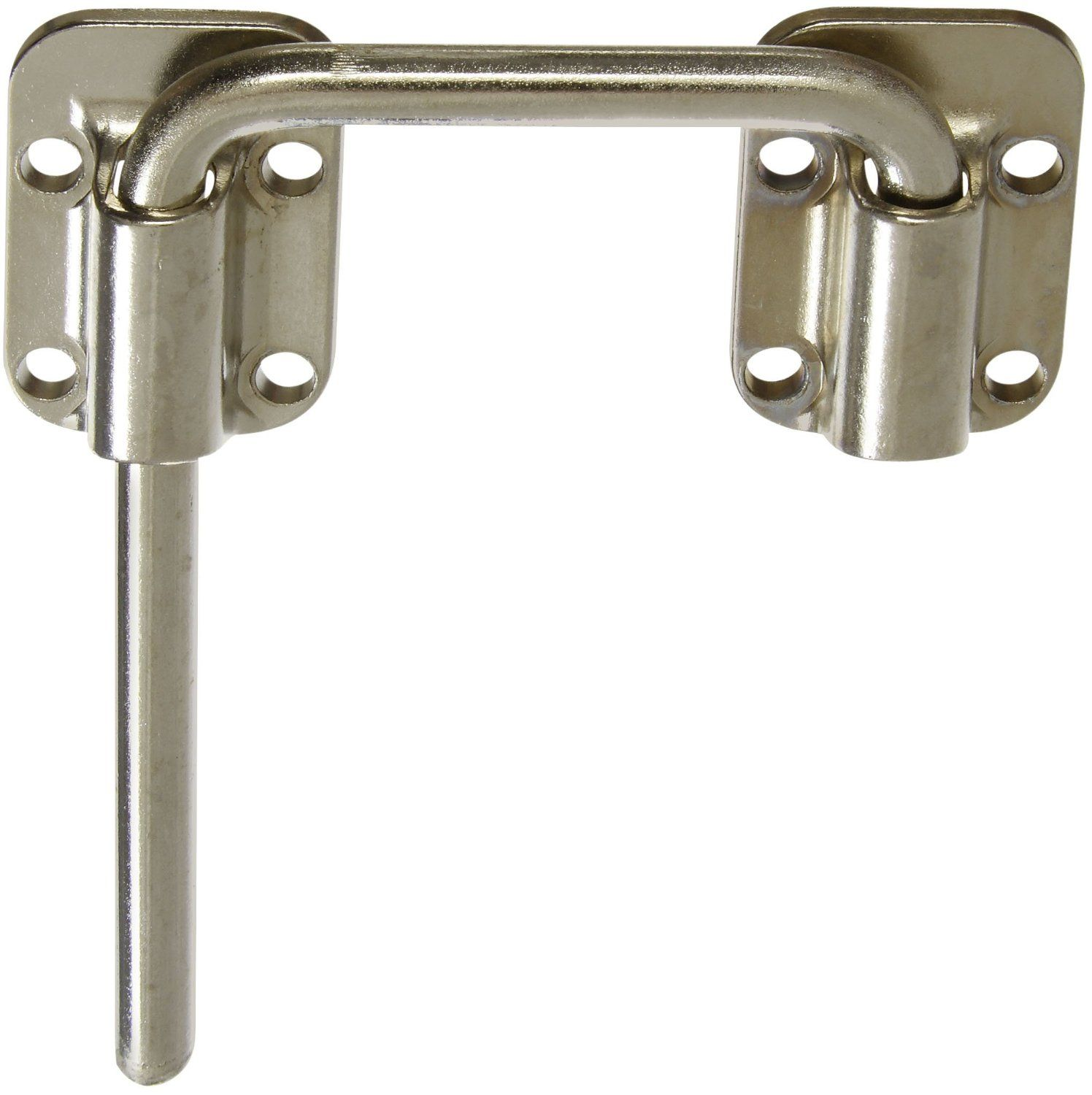 National Hardware V800 2 1 2 Sliding Door Latch In Nickel Screen