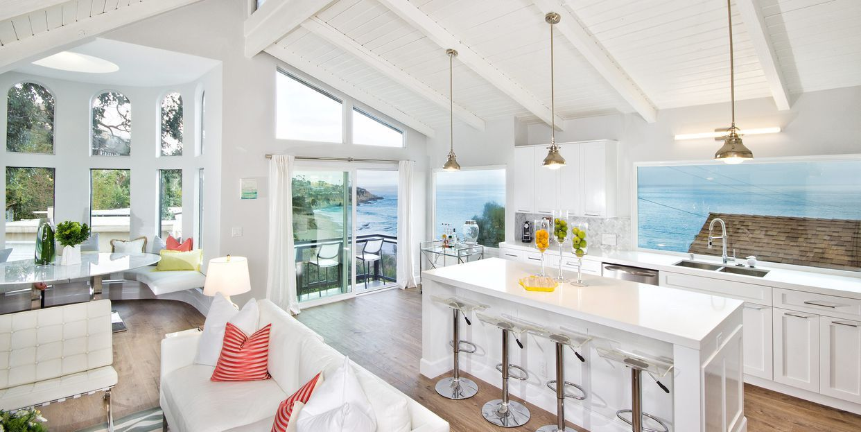 These Vaulted Kitchens Are The Chicest Way To Renovate Beach