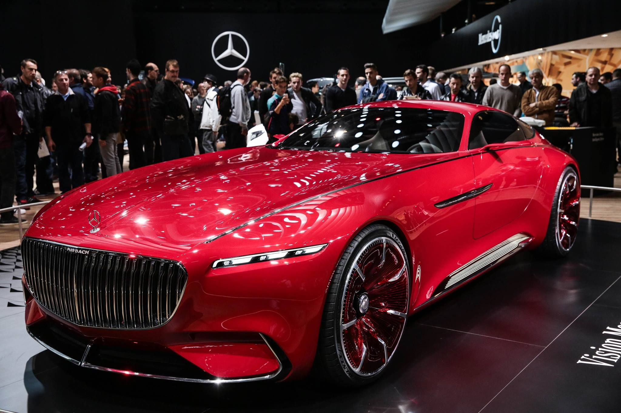 Mercedes MAYBACH 6 #MondialAuto