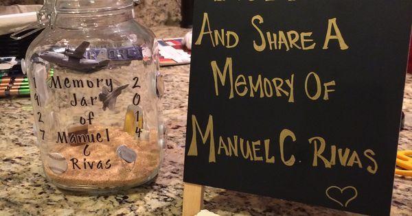 Clever Memory Jar Memories Chalkboard Quote Art