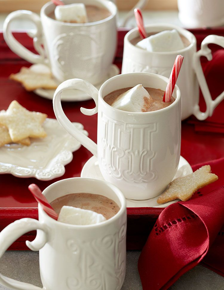 Hot cocoa in monogrammed mugs - 30% off and Free Shipping!  http://rstyle.me/n/dih76nyg6
