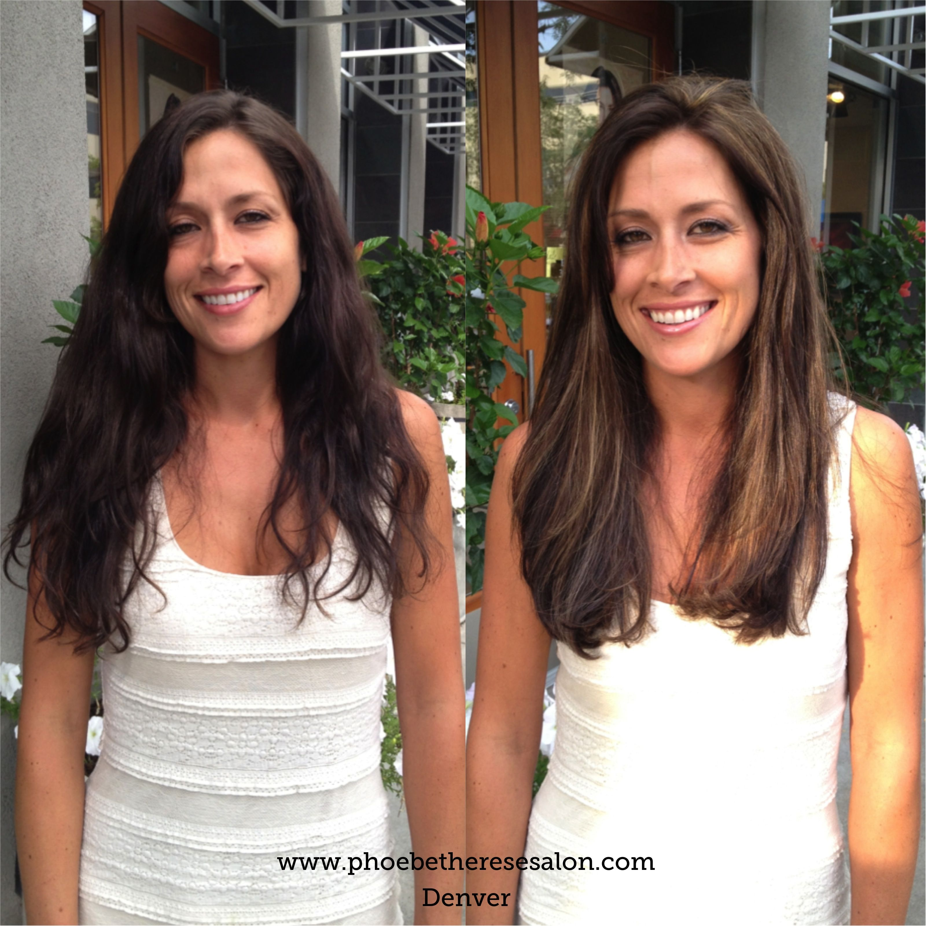 Long Hair Balayagedenver And Haircut By Phoebe Client Decided To