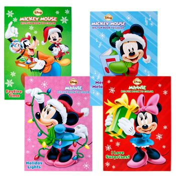 Bulk Disney Christmas Coloring Books 96 Pages At DollarTree