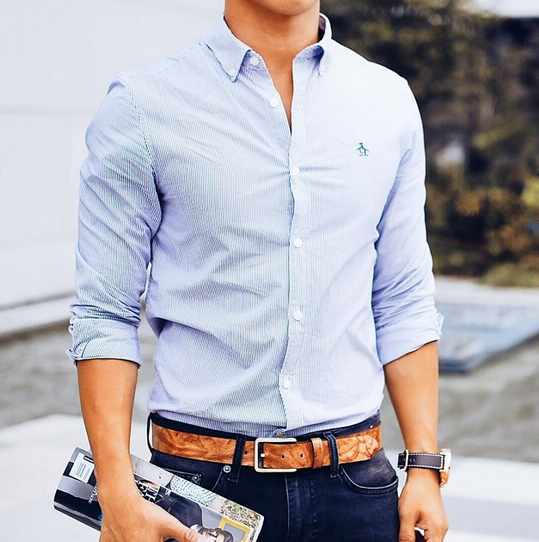 Menswear #blogger David Guison is casual cool in his