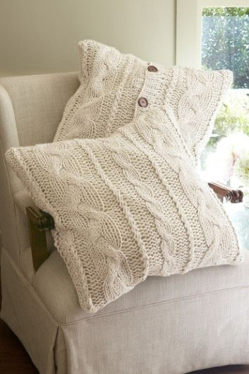 Cable Knit Euro Sham Pillow Shams Soft Surroundings