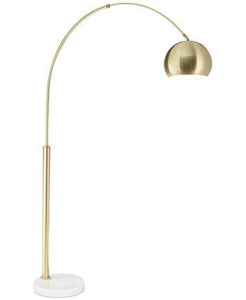 Kathy Ireland Pacific Coast Basque Gold Arc Floor Lamp Reviews All Lighting Home Decor Macy S Gold Floor Lamp Arc Floor Lamps Floor Lamp