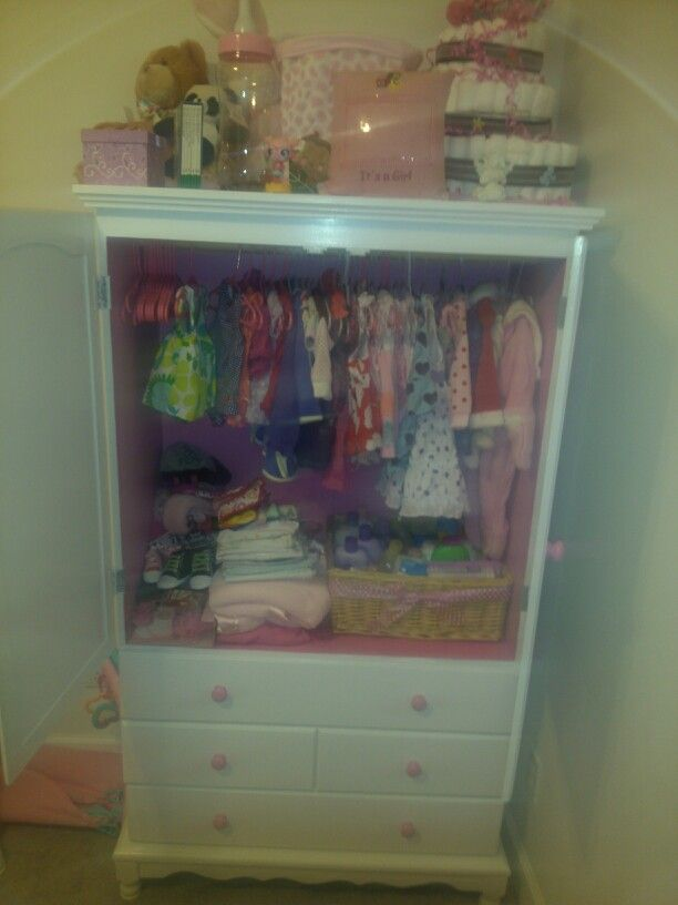 Re-painted wardrobe
