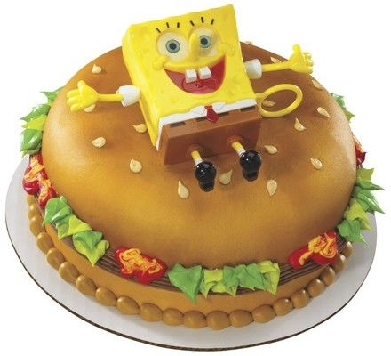 SpongeBob SquarePants Ticklepants DecoSet 8 Cake Decopac