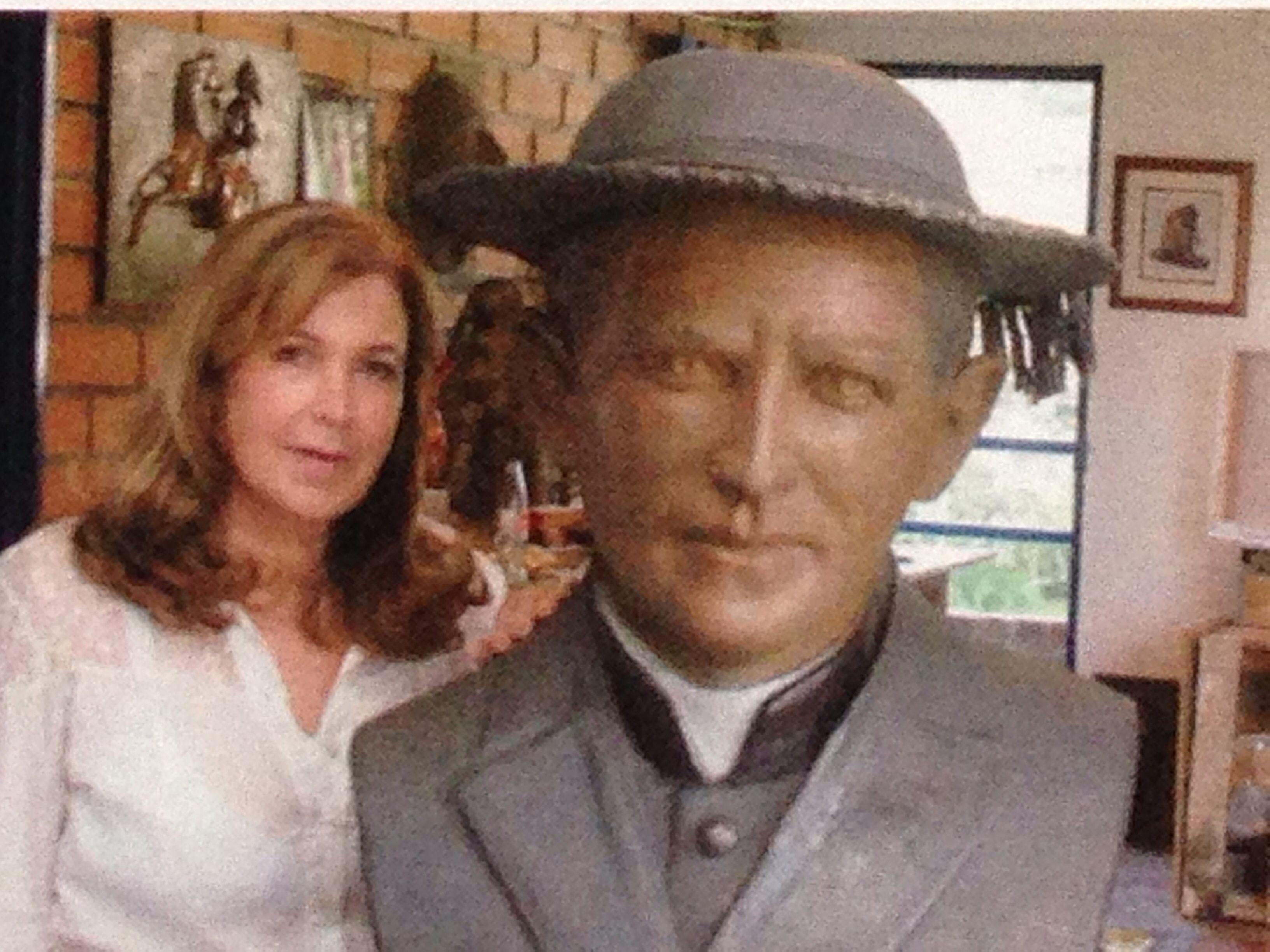 Escultura padre Rodolfo