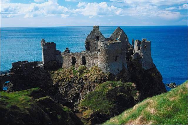 Castello di Dunluce, County Antrim, Irlanda del Nord