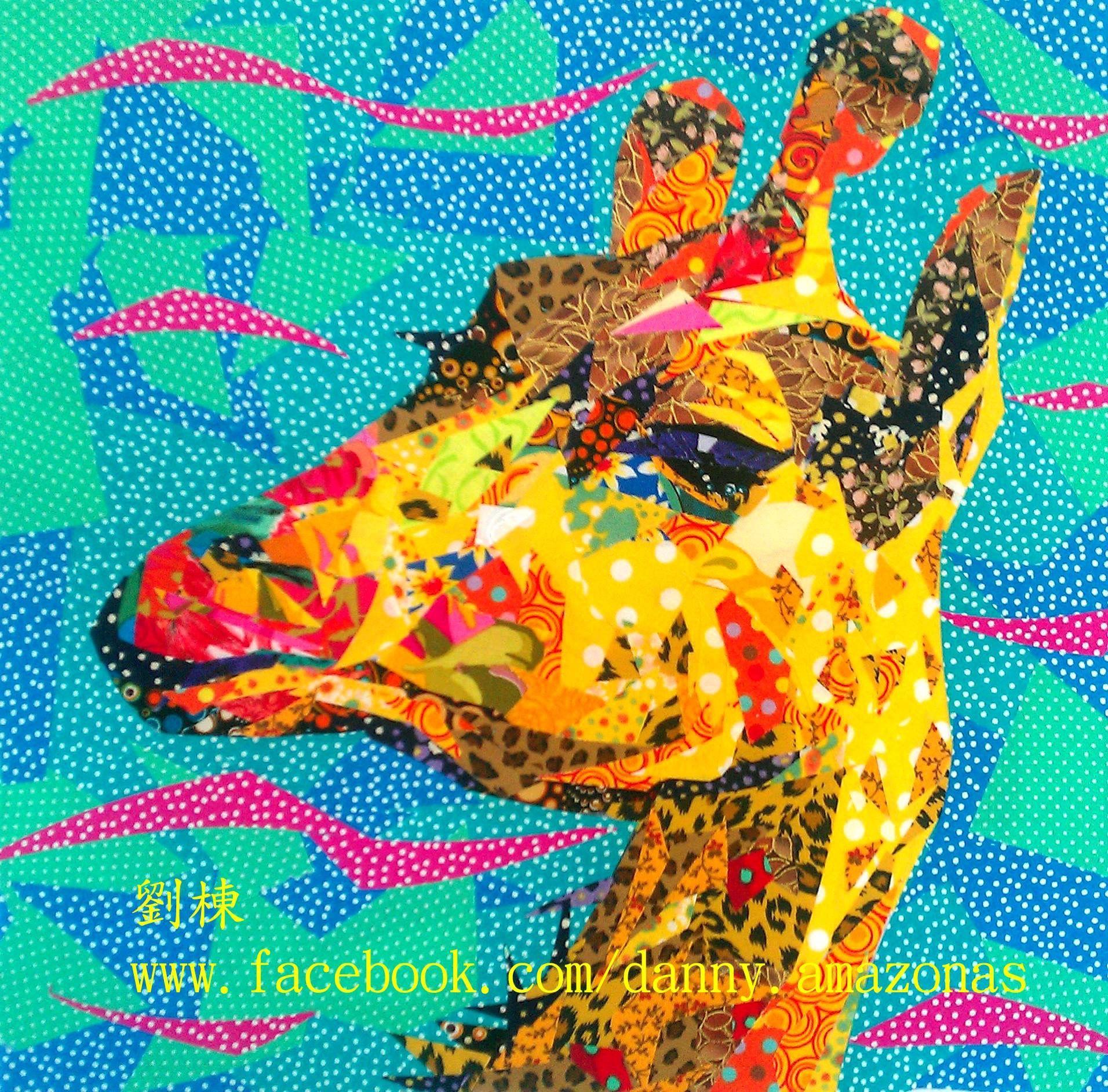 Fabric mosaic - Danny Amazonas - Facebook | Quilt Art | Pinterest ...