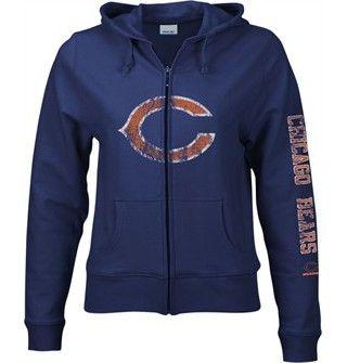 359d86bc Women's Giant Logo Full-Zip Hoodie   things i want   Chicago bears ...