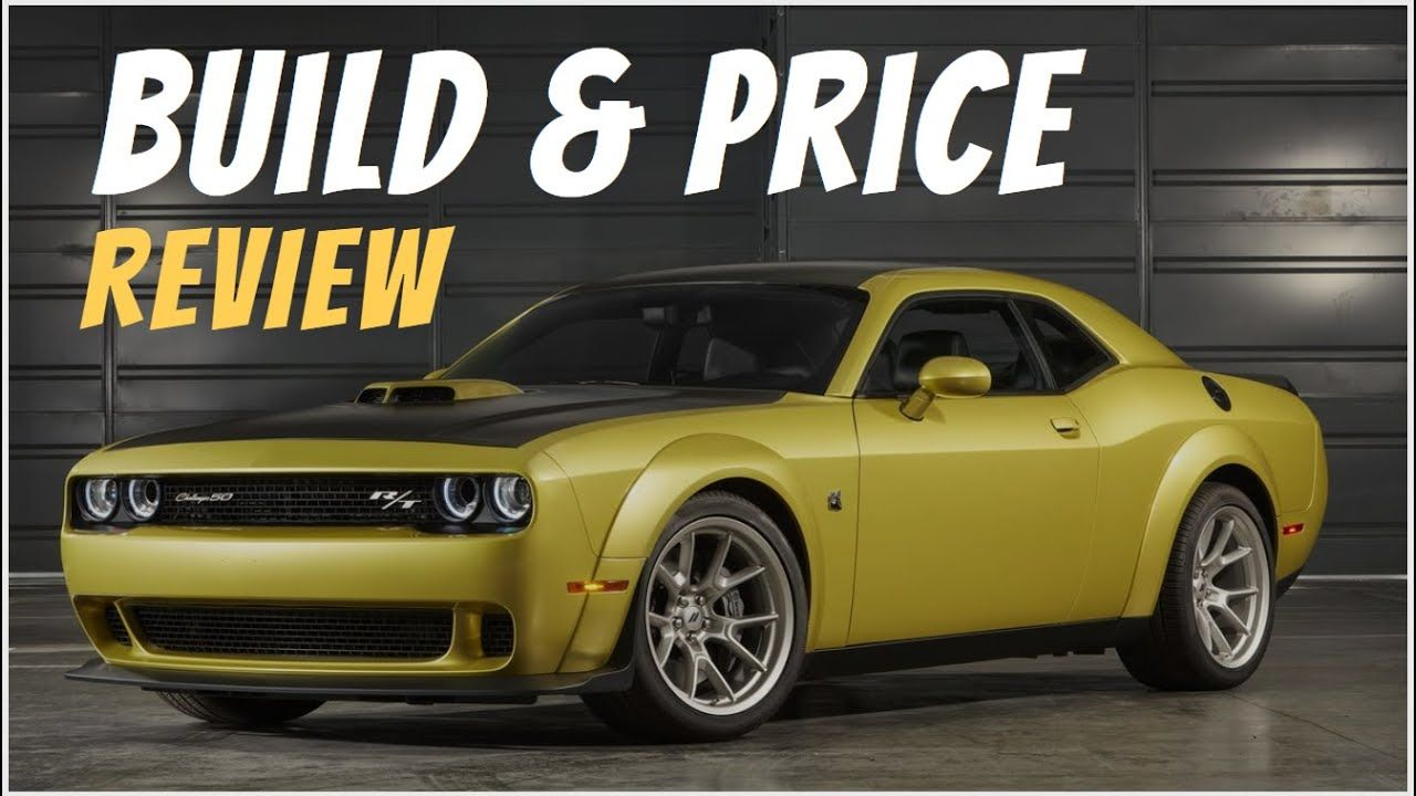 2020 Dodge Challenger R T Scat Pack Widebody Coupe 50th Anniversary Bu In 2020 Scat Pack Dodge Challenger Camaro 1ss