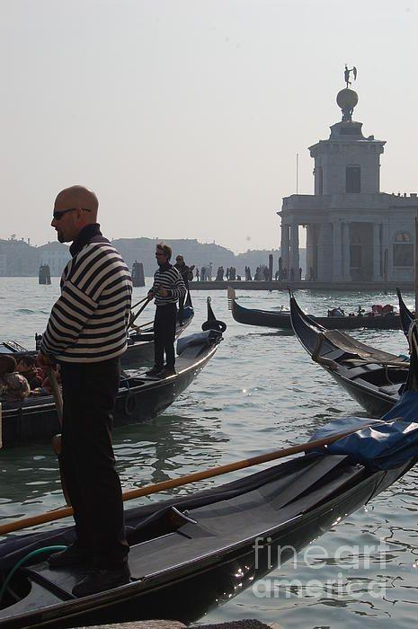 Gondolier In Venice Italy by C Lythgo | Venice italy ...