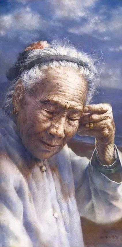 Chen Wen Cheng B1964 Ping Dong County Taiwan Watercolor