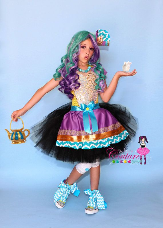 Madeline Hatter Inspired Dress And Costume From Ever After High