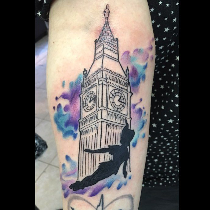 Peterpan Bigben London Tattoo Peterpantattoo