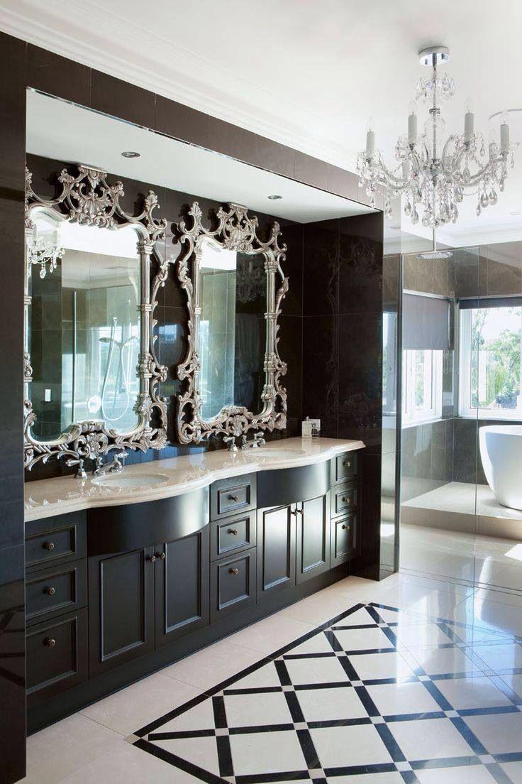 Enamorada de estos espejos. Cuarto de baño perfecto (con ...
