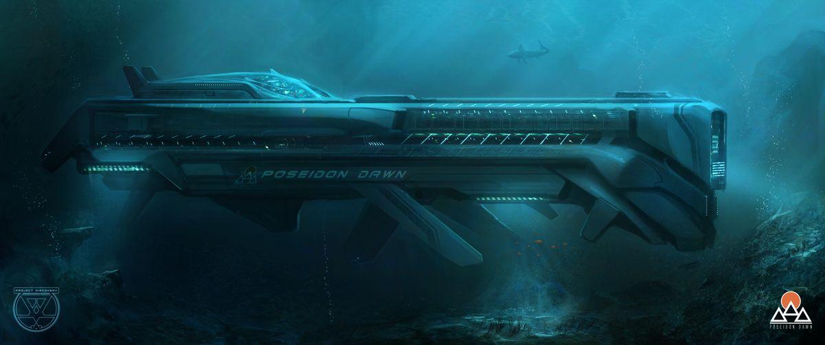 futuristic military submarine - Google Search | Voyage of ...