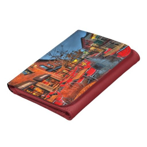 Street Reflections Leather Wallet