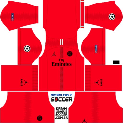 kit-PSG-dls18-away-Gk-liga-dos-campeoes-uniforme-goleiro-fora-de