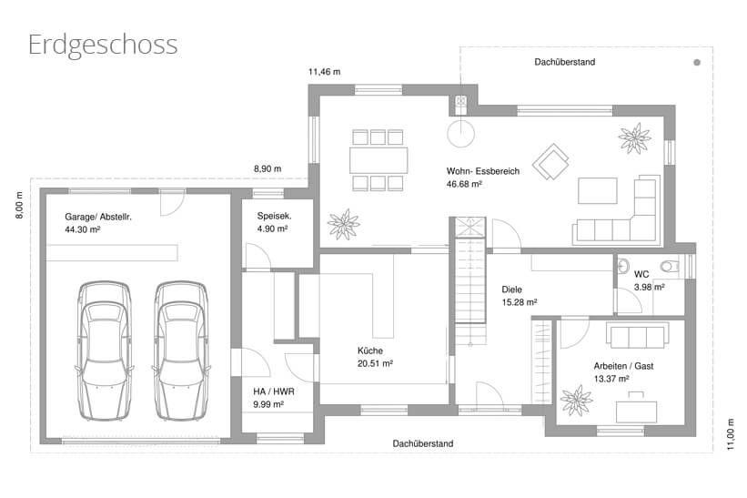 die elegante stadtvilla tauber architekten und ingenieure grundrisse pinterest. Black Bedroom Furniture Sets. Home Design Ideas
