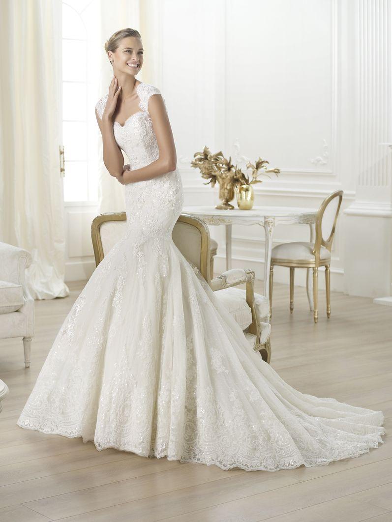 Buy Wedding Dress Pronovias Letha 2014 At Cheap Price