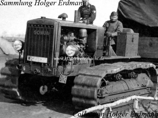 The Caterpillar RD 6 of the series 2 H was manufactured from