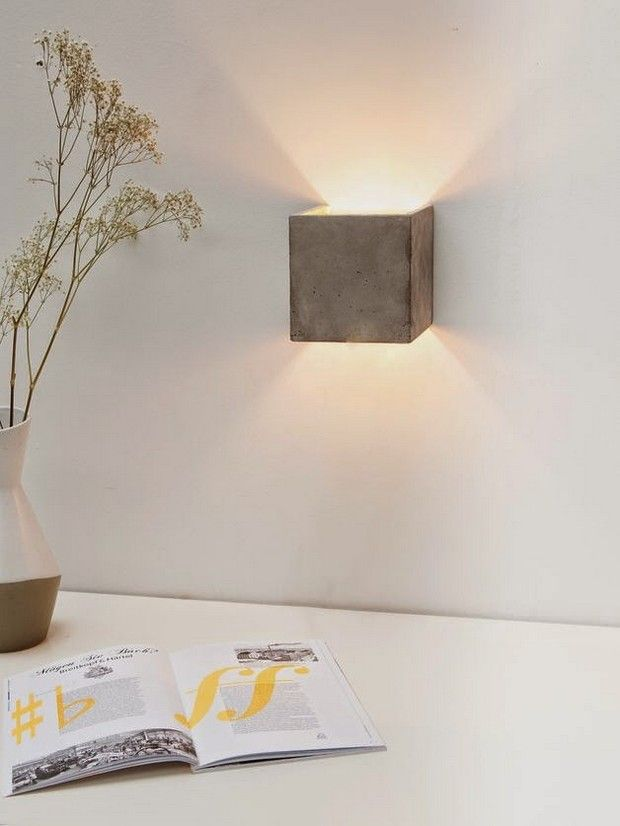 TOP 50 Modern Wall Lamps | Lamp design, Concrete lamp ...