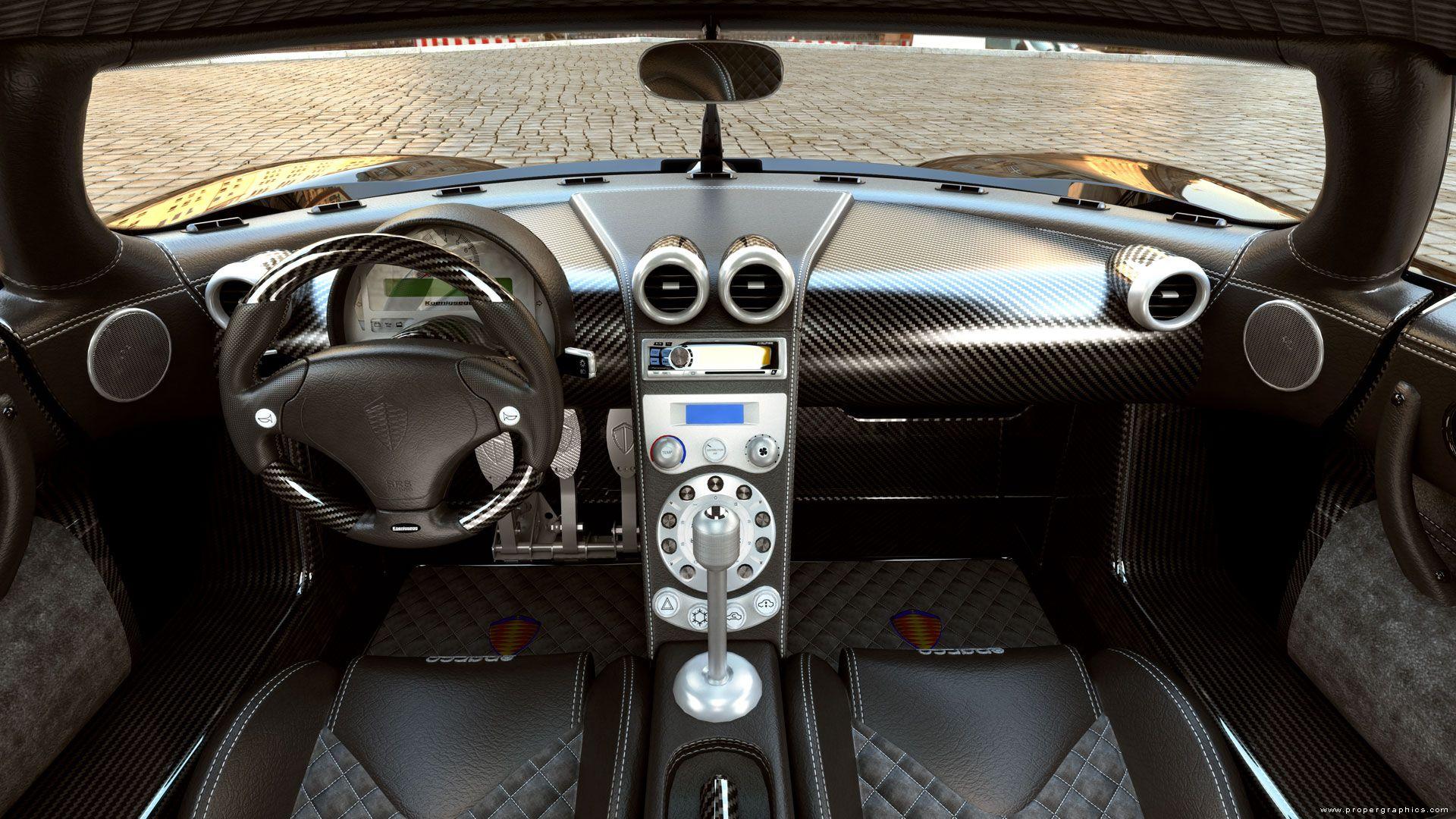 Charming Koenigsegg CCGT Interior