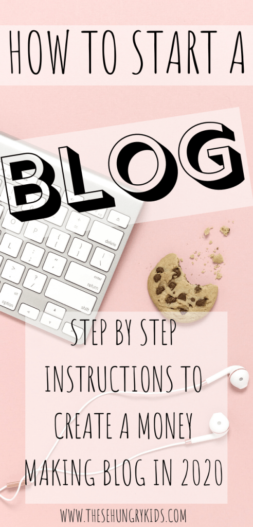 You can start a blog in 2020! This is a step by step guide ...