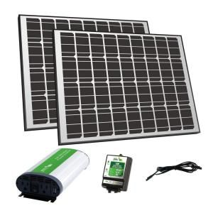 Nature Power 180 Watt Solar Panel 12 Volt Off Grid Charger Kit 57002 The Home Depot Off Grid Solar Panels Solar Panel Kits Solar Panels