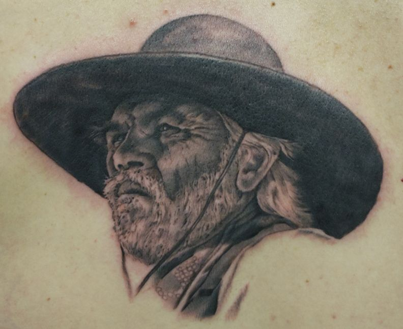 Tommy Lee Jones, Lonesome Dove by kurt fagerland