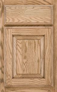 Schuler Cabinetry Hampton oak Cappuccino Burnt Sienna Glaze