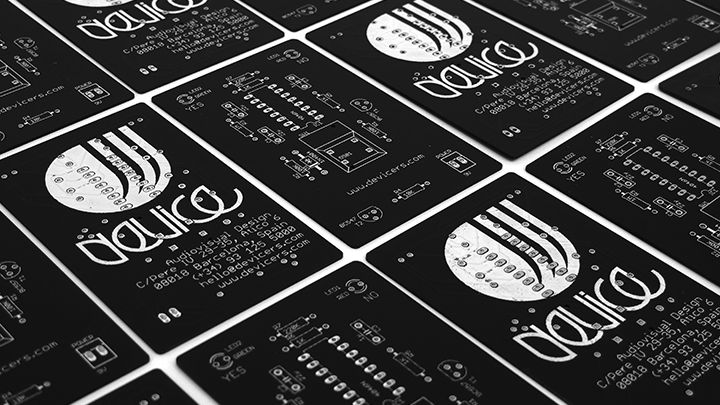 Pcb Printed Circuit Board Business Card By Device Printed Circuit Board Circuit Board Business Cards