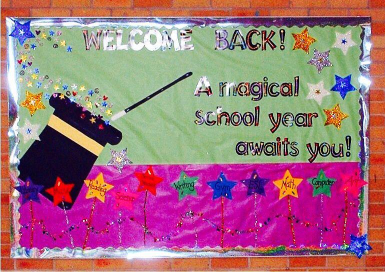 A Magical School Year Awaits You School Welcome Bulletin