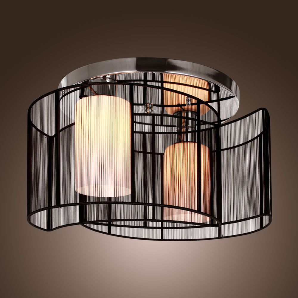 Hot highly recommened symmetry good deal black semi flush mount with lightinthebox black semi flush mount with 2 lights mini style chandeliers modern ceiling light fixture for hallway dining room living room lightinthebox arubaitofo Image collections