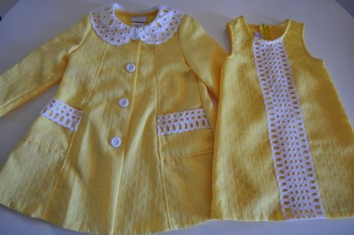 Iris and Ivy Girls Size 3T Yellow Dress with Jacket Set Cute for Spring | eBay