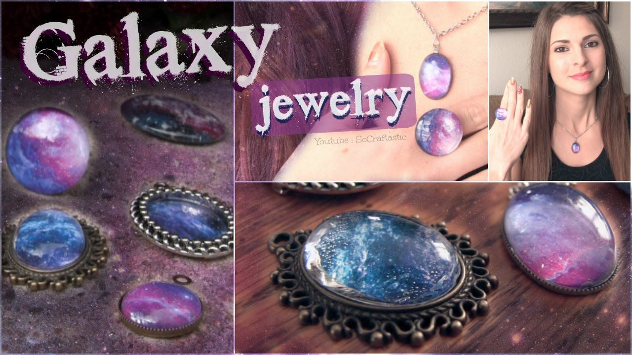 how to make a galaxy pendant