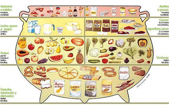 Olla Alimentaria Edicion Impresa Abc Color Nutricion Para Niños Alimentario Alimentación Saludable Para Niños
