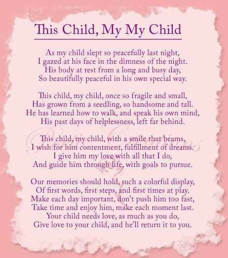 Inspirational Poem to My Children Saw this and liked it!   Cute ...