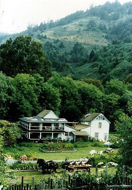 Howard Creek Ranch Inn is an historic, 60 acre, ocean front farm; bordered by miles of beach and mountains on the beautiful Mendocino Coast.