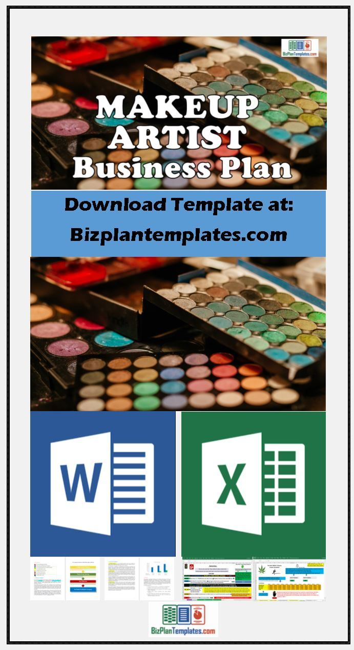 Makeup artist business plan get all your planning and ideas makeup artist business plan get all your planning and ideas together to start and operate a makeup artist business easy to use template documents wajeb Image collections